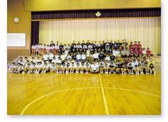 中学校交流バスケットボール部